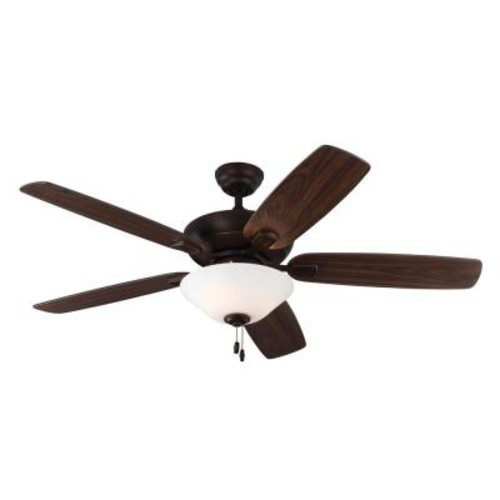 Monte Carlo Colony Max Plus 52 in. Indoor/Outdoor Roman Bronze Ceiling Fan