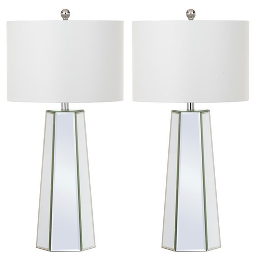 Safavieh Janice 31.5 in. Clear Table Lamp (Set of 2)