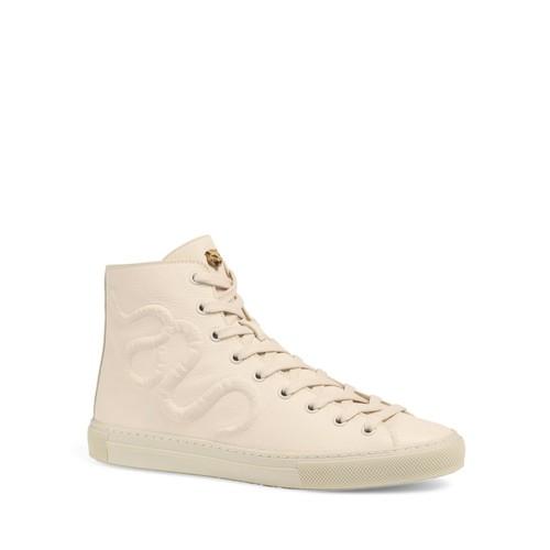 GUCCI Major Serpent High Top Sneakers