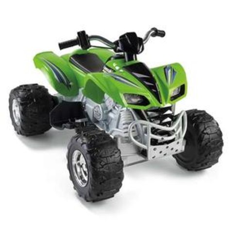 Fisher-Price Power Wheels Kawasaki KFX Electric Rideon X6641