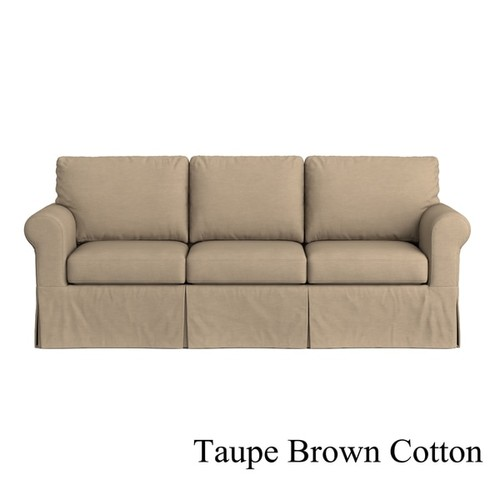 Handy Living Custom Skirted Replacement Cover for Handy Living Bella SoFast Sofa