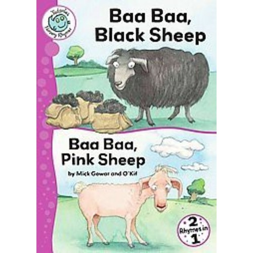 Baa, Baa, Black Sheep and Baa, Baa, Pink ( Tadpoles: Nursery Rhymes) (Reprint) (Paperback)