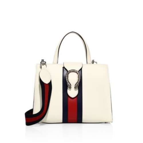 GUCCI Medium Dionysus Leather Top-Handle Bag