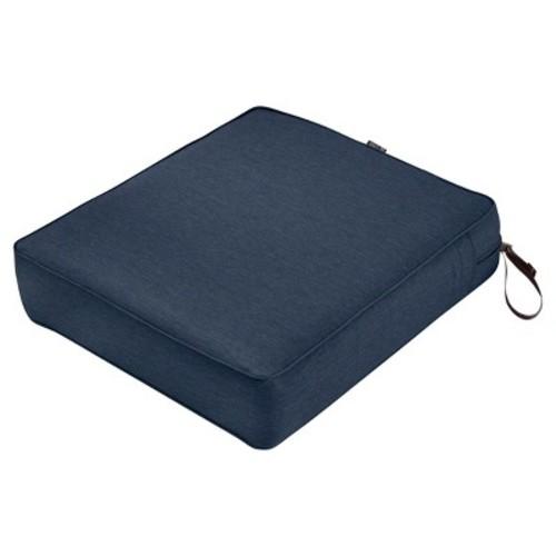 Montlake Fadesafe Rectangular Patio Lounge Seat Cushion Set - Classic Accessories
