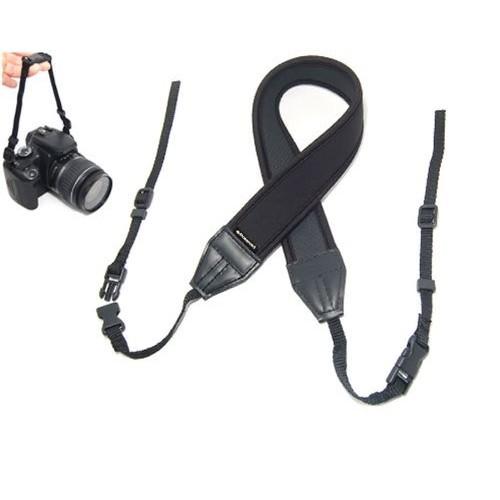 Polaroid Neoprene Adjustable Cushioned Neck Strap For The Canon VIXIA HF M400, M40, M41, M52, M50, M500, M32, G10, G20, G30, S30, XA10, XA20, XA25, XF100, XF105 Camcorder