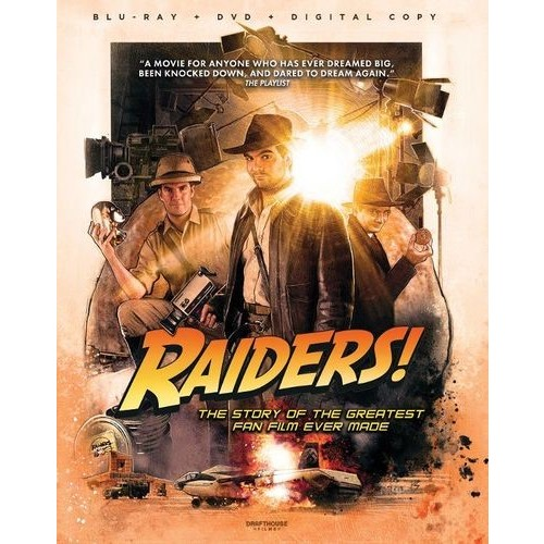 Raiders!: The Story of the Greatest Fan Film Ever Made [Blu-ray/DVD] [2 Discs] [2015]