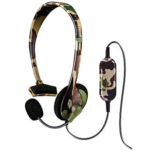 DreamGear DGPS3-3873 PlayStation3 Broadcaster Headset Jungle Camo