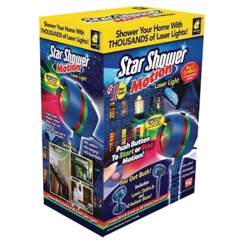 AS SEEN ON TV! Star Shower Motion Light Projector