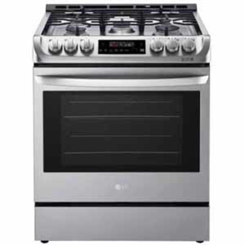 LG 6.3 cu. ft. Gas Slide-in Range with ProBake Convection and EasyClean - Stainless Steel