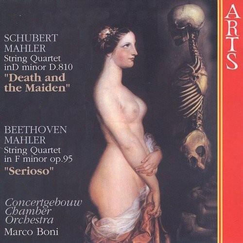 Schubert / Mahler: String Quartet in D - Death & The Maiden , Beethovan / Mahler: String Quartet in F - Serioso