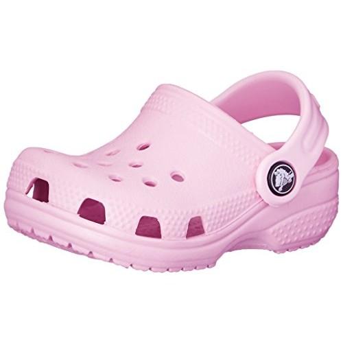 Crocs Kids' Littles Clog - Infant [Ballerina Pink, 2-3 M US Infant, Infant (0-12 Months)]