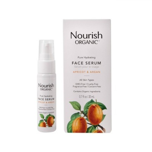 Nourish Organic Argan Face Serum -- 0.7 fl oz