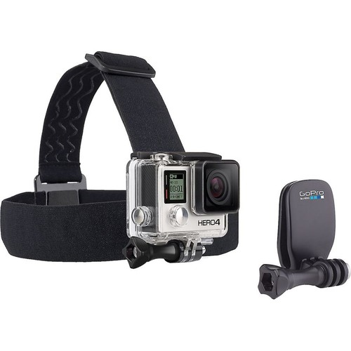 GoPro Head Strap and Quick Clip Hands-free mount for GoPro HERO cameras