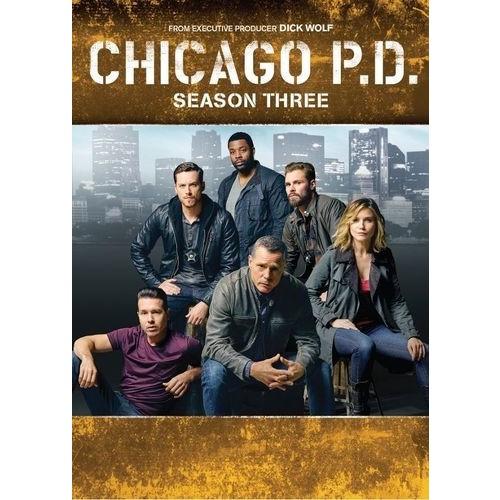 Chicago P.D.: Season Three [6 Discs] [DVD]