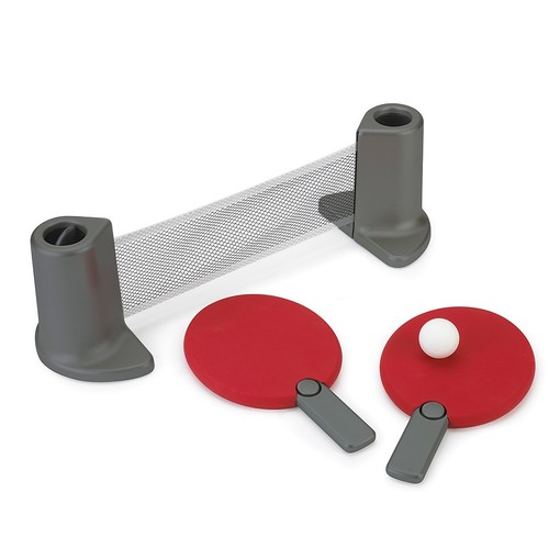 Portable Table Tennis Set [Red]