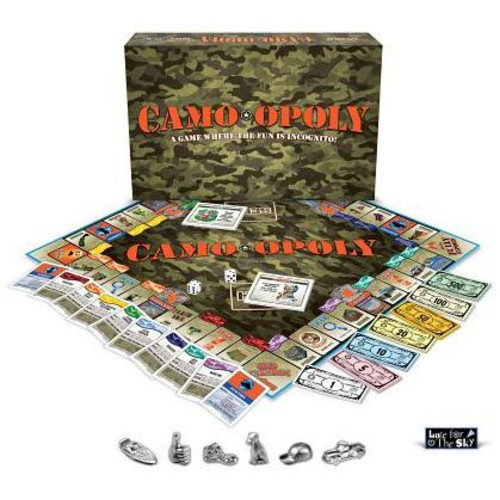 e for the Sky CAMO Opoly Board Game - Camo