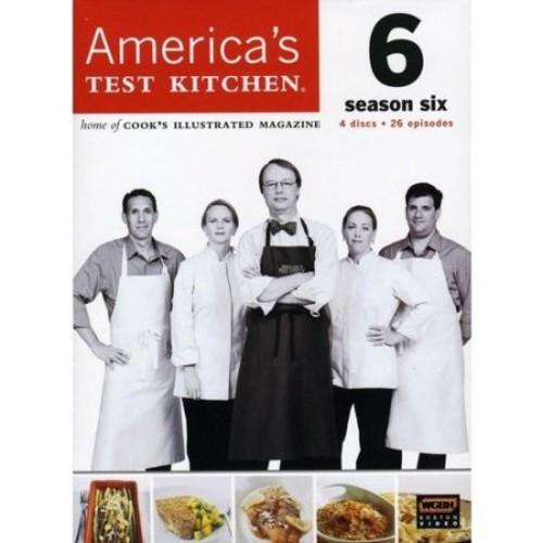 America's Test Kitchen: Season Six [4 Discs] [DVD]