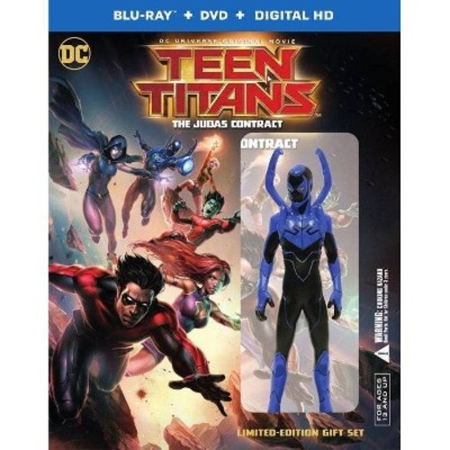 Teen Titans: The Judas Contract Deluxe Edition (Blu-ray)