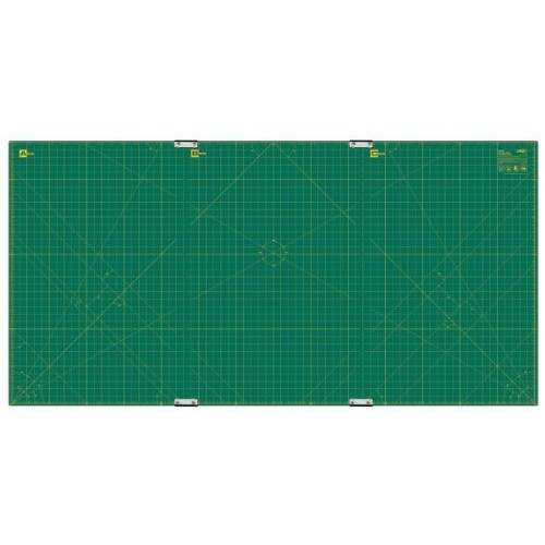Olfa 35-Inch-by-70-Inch Gridded Cutting Mat Set Clipped