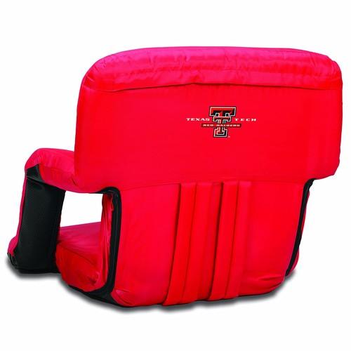 NCAA Texas Tech Red Raiders Ventura Portable Reclining Seat, Red