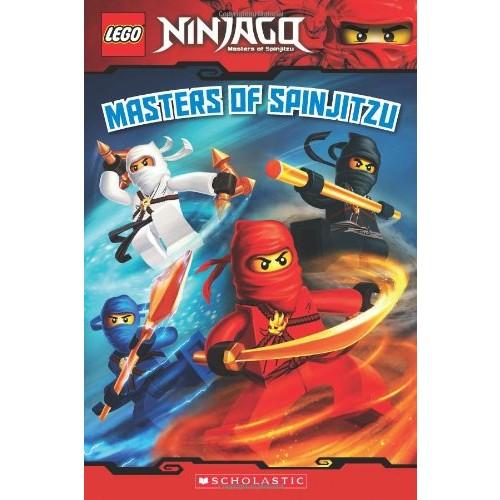 Masters of Spinjitzu (LEGO Ninjago: Reader)