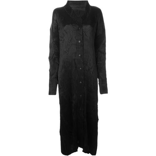 Issey Miyake Vintage long pleated coat