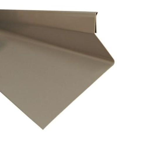 Metal Sales Drip Cap in Charcoal