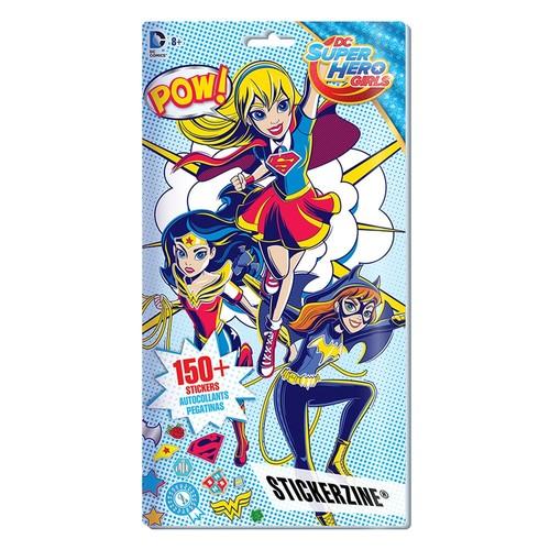 DC Super Hero Girls Stickerzine by Fashion Angels
