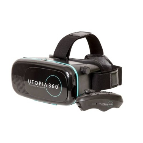 Utopia 360 Virtual Reality Smartphone Headset with Bluetooth Remote