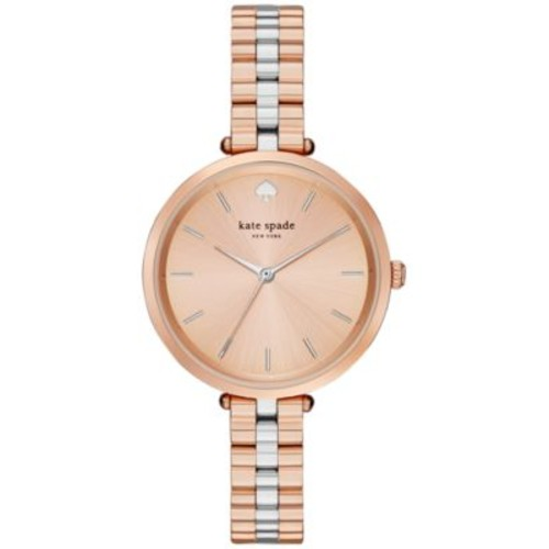 kate spade new york Women's Holland Two-Tone Stainless Steel Bracelet Watch 34mm 1YRU0860