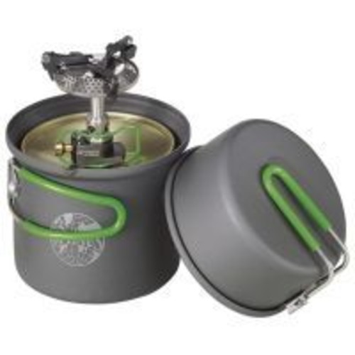 Optimus Crux Lite W/terra Solo Cookset 8019749, Stove Type: Canister Stoves, Fuel Type: Canister, Isobutane Mixed, Boil Time: 3 min, Auto Igniter: No, Weight: 0.6 lb