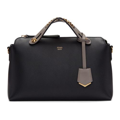 FENDI Black Regular 'By The Way' Boston Bag
