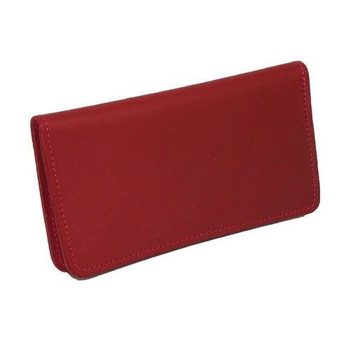 CTM Leather Checkbook Cover - One size
