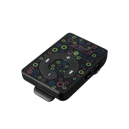 Digital Mp3 Music Player Mini USB Clip Support 8GB SD TF Card