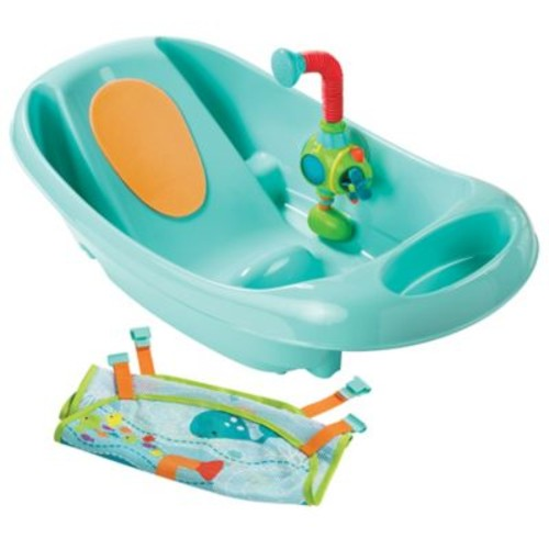 Summer Infant My Fun Infant to Toddler Bath Tub in Blue
