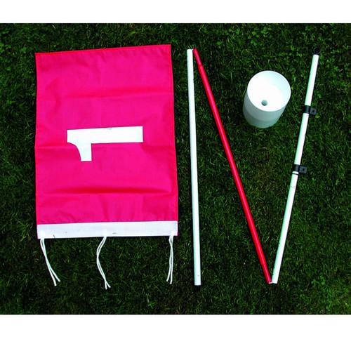 Backyard Flagstick & Cup Golf Training Aid