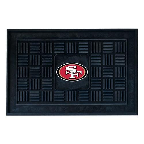 FANMATS NFL San Francisco 49ers Vinyl Door Mat [San Francisco 49ers]