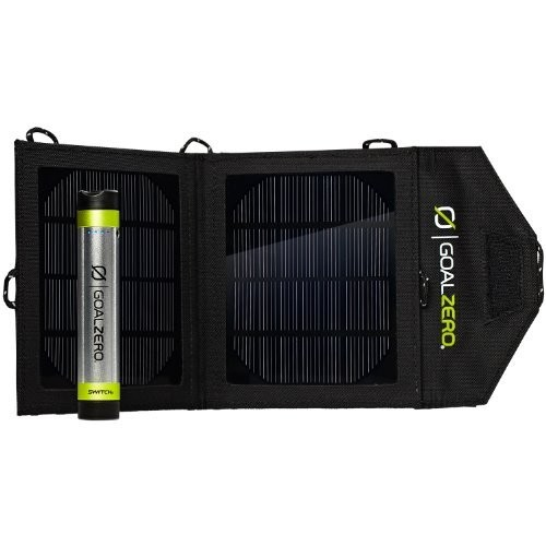Goal Zero 41001 Switch 8 Silver/Black Solar Recharging Kit (Discontinued by Manufacturer)
