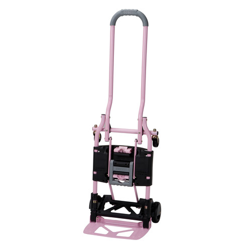Cosco Home and Office Products Pink Shifter Multi-Position Folding Hand Truck and Cart