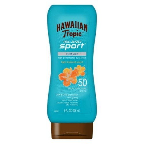 Hawaiian Tropic Island Sport Sunscreen Lotion - SPF 50 - 8oz