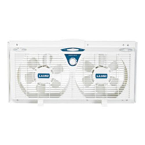 Lasko Products Lasko 8Inch Electrically Reversible Twin Window Fan
