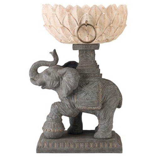 Outdoors Assam Elephant Planter - Gray - Bombay Outdoors