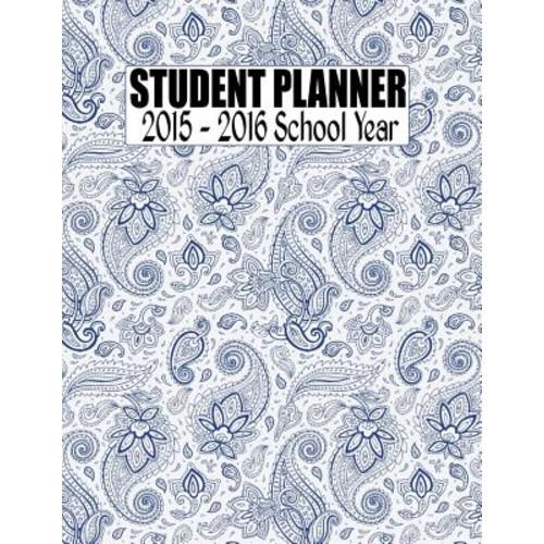 Student Planner 2015 - 2016 School Year