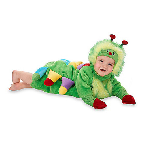 Just Pretend Caterpillar Infant Size 0-6 Months Romper