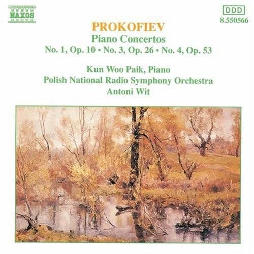 Prokofiev: Piano Concertos Nos. 1, 3 & 4 [CD]