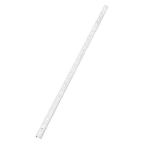 Rubbermaid 46 in. White Single Track Upright