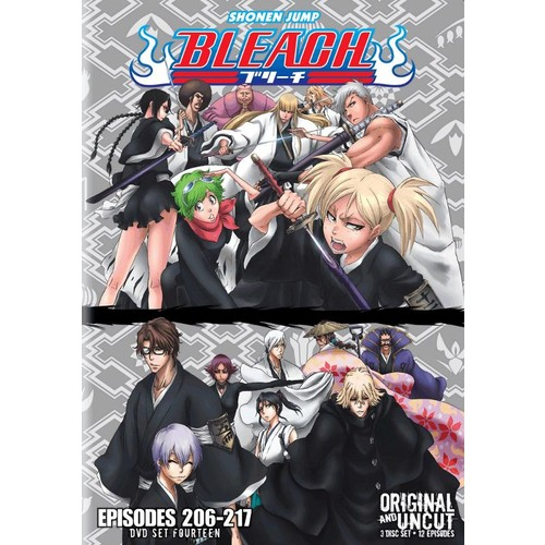 Bleach Uncut Box Set, Vol. 14 [3 Discs] [DVD]