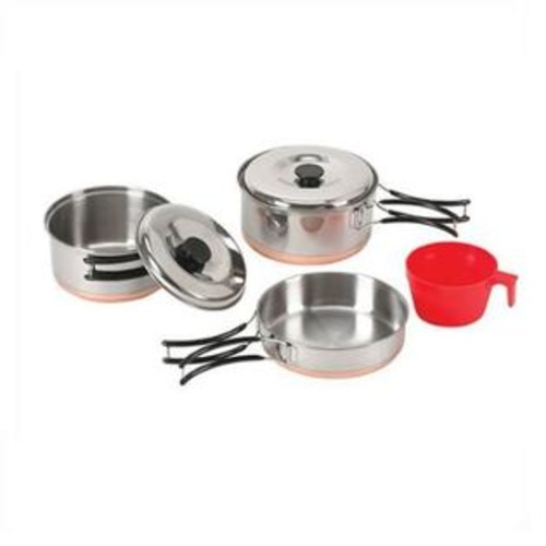 Stansport Stainless Individual Cookset