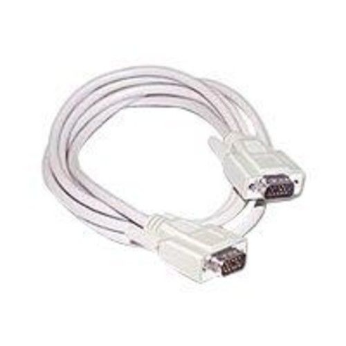 C2G 10' Economy HD15 SVGA Male/Male Monitor Cable, Beige