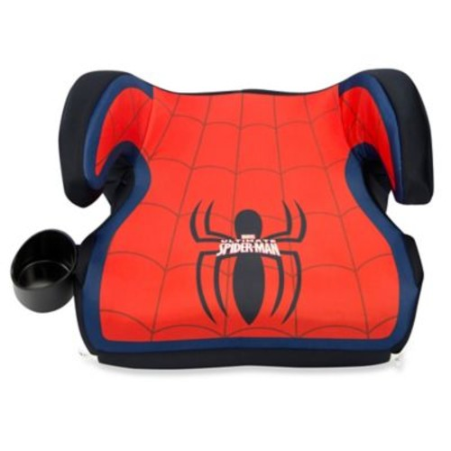 KidsEmbrace Fun-Ride Spider-Man Backless Booster Car Seat